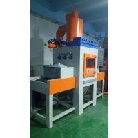 深圳吉川喷砂机厂家直销高效环保自动喷砂机 平面输送式喷砂设备