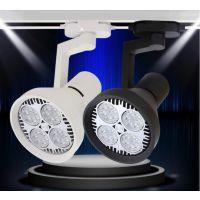 厂家直销批发LED轨道灯 服装店射灯 COB导轨射灯 可调角度射灯