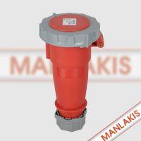 山西太原MANLAKIS TYP562 32A-6h 5P IP67防水连接器 厂家现货直销