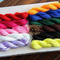 DIY红绳线编织中国结线 手链项链红线 玉线台湾手编线绳批发