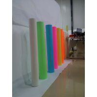 厂家直供服饰专用高亮绿光膜 PU喷绘印刷发光膜 PET刻字蓄光膜