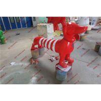 腊肠狗玻璃钢卡通雕塑 商场动物主题景观装饰雕塑