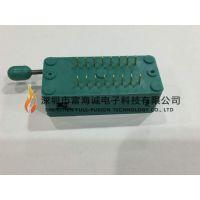 3M textool IC插座 216-3340-00-0602J DIP16PIN 锁紧座