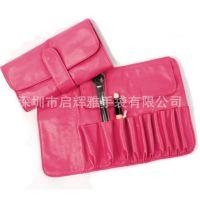 工厂生产供应化妆刷包10支套装刷包专业彩妆工具包化妆包加工定制