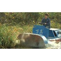 库尔勒割草船|除草船找万英全液压式小型水面割草船