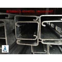 厂家直销40*40*2 C型钢 U型槽 镀锌C型钢有孔/无孔钢 光伏支架 货架