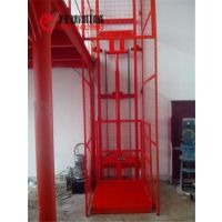 1吨导轨式升降货梯单缸单臂式载货升降平台厦门厂家批发