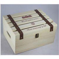 红酒六支装现货红酒木盒礼盒六支葡萄酒盒子红酒盒批发