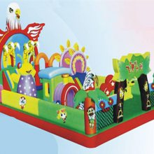 新款飞鹰计划充气城堡滑梯/心悦XY-fy充气大滑梯价格/pvc儿童玩具包广场热卖