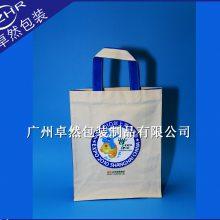 世博会全棉帆布袋大包围车法热转印烫画广告礼品包装袋展览会定做
