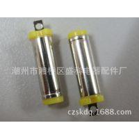 厂家直销 5525音叉 5.5*2.5DC插头 5525黄胶 耳机插头 DC公母插头