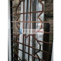 忻州市不锈钢管异性花格屏风 多边形花格屏风 花格包边屏风批发