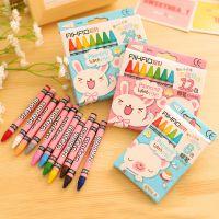 韩国文具学习用品爱好布绒娃娃8色蜡笔学生奖品厂家直销特价