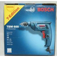 博世TBM 600 迷你 6.5mm 正反转调速手枪钻 手电钻 多功能