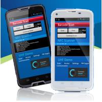 富立叶pda手持机 支持一维二维码扫描 高频超高频rfid手持终端 C5