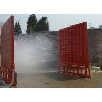 云南工程洗轮机平台安装