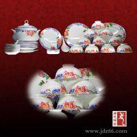 陶瓷酒店餐具生产厂家,酒店餐具摆台定做,高档骨瓷餐具价格