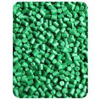 特价供应普通胶袋吹膜环保果绿色母 垃圾袋背心袋高浓度绿色母粒