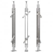耀恒 兴化不锈钢楼梯栏杆扶手不锈钢50方管立柱