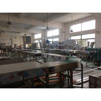 上海冠鹏机械供应输送机链板输送机,饮料生产线