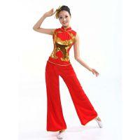 2014 新款秧歌服 广场舞表演服装  新款演出服厂家批发直销