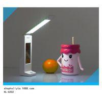 现代环保室内灯具厂家 学习护眼LED可充电台灯 万年历电子礼品