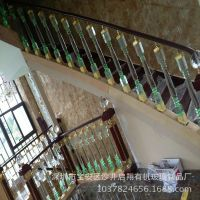 别墅水晶楼梯立柱 装潢亚克力楼梯立柱 家用有机玻璃楼梯立柱
