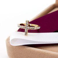 2014新品 十字架镶钻时尚戒指关节指环夜市热卖全球速卖通货源