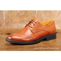 厂家直销英伦商务男士意大利复古雕花商务正装皮鞋 男鞋 手工定制