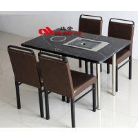 厂家直销连锁餐饮家具-韩式烤肉火锅店卡座沙发桌椅