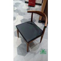 运达来自产自销 现代实木设计餐椅 简约实木餐厅餐椅