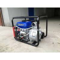厂家直销批发鹰派电启动汽油机水泵170两寸农用水泵抽水机农业园林