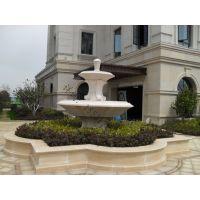 【星瀚雕塑】供应曲阳石雕喷泉|加工晚霞红喷泉|订制花岗岩风水球喷泉|汉白玉风水球|订制欧式人物喷泉|