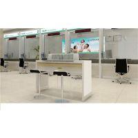 西宁银行办公家具、恒吉家具厂、银行办公家具填单台