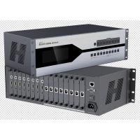 广东插卡机箱式8路高清混合多功能矩阵延长器