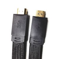 HDMI CABLE 带网扁平线 长虹 创维 康佳 TCL液晶电视连接线