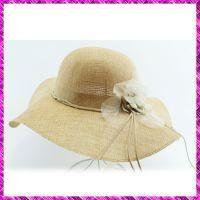 草帽批发夏天女士小辣椒遮阳帽沙滩度假草编大沿帽可折叠大檐帽