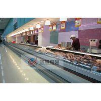 供应鲜肉柜/订做鲜肉柜尺寸/鲜肉冷藏展示柜