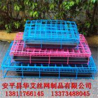 供应折叠式宠物笼 铁丝喷塑宠物笼 折叠狗笼 兔笼 折叠狗笼子