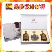 石斛酒礼品盒定做 铁皮石斛高档酒盒设计 霍山石斛包装盒 新款
