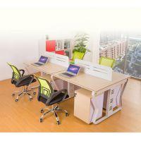 四多人工作位 上海批发电脑桌 办公家具 现代组合职员桌 办公桌