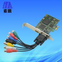 麦恩HD200高清2路HDMI采集卡1080p视频监控 笔记本视频采集卡hdmi