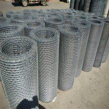 旺来铁丝筛网 钢轧花网 不锈钢矿筛网