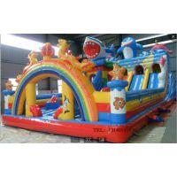河北廊坊户外孩子玩的充气蹦蹦床滑梯多少钱?