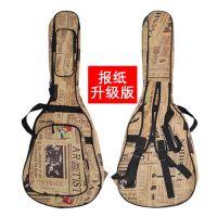升级加厚木吉他包40 41寸双肩个性防水吉它袋背包琴包 防水防震 加厚珍珠棉 可定制 厂家直销
