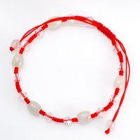 批发 混批 天然翡翠 水晶 红绳 手链 女生 路路通手链 免费代理