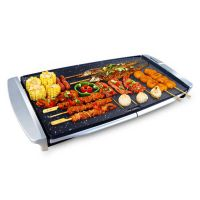 RB205A电烧烤盘无烟不沾电烧烤炉 韩式大号电烤炉 家用电烤盘批发