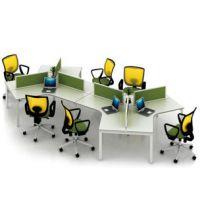 简约组合办公桌 时尚职员桌 现代员工桌 上海办公家具厂家直销