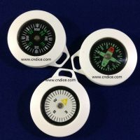 指南针拉链扣 指南针拉链头 指南针拉头 25mm塑料指南针 塑胶 深圳工厂生产加工 环保出口