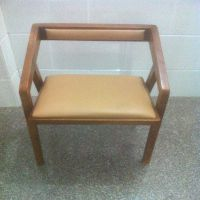实木家具天月铁艺定制美式乡村餐厅餐椅 全实木框架办公椅包邮